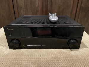 Pioneer Surround Receiver with Universal Harmony Remote for Sale in McHenry, IL