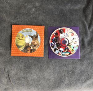 Shrek DVD Sampler/ EASports AL east 3 for Sale in Fontana, CA