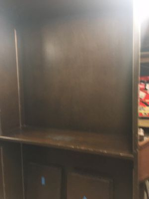 Large and Tall Dark Brown Wooden Book Case/ Shelf for Sale in Franklin, TN