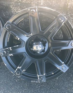 20in black matte Dc wheels for Sale in New Haven, CT
