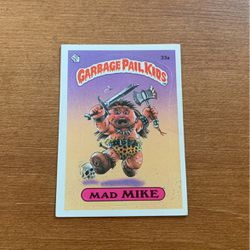 Garbage Pail Kids - Series 1 Mad Mike 33a for Sale in Murrieta,  CA