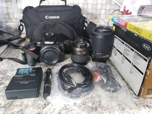 Nikon D5500 DSLR Kit Or Purchase Separately for Sale in Greece, NY