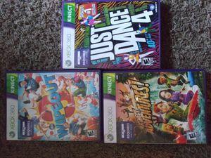 Xbox 360 kinect games for Sale in Wichita, KS