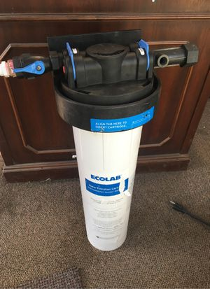Selecto/ecolab restaurant grade water filter for Sale in Sunnyvale, CA