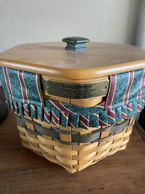 Longaberger Christmas Collection 1997 Edition Snowflake Basket for Sale in MESA, AZ