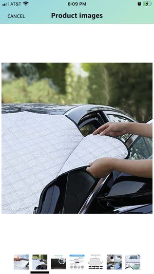 Snow cover car windshield for Sale in Corona, CA