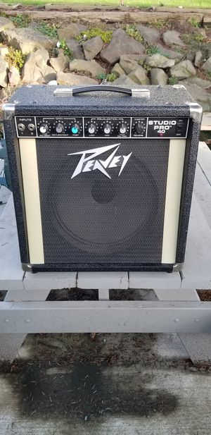 1985 Peavey Studio Pro 40 amp 1x12 for Sale in Seattle, WA