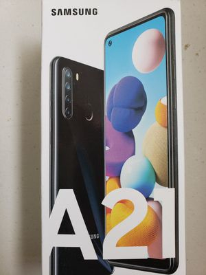Brand new Samsung A21 , 4 cameras for Sale in Toledo, OH