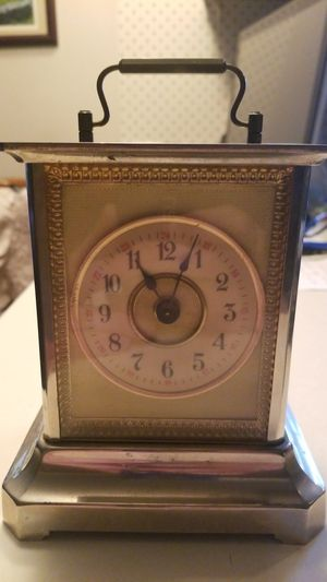 ANTIQUE WURTTEMBERG CARRIAGE CLOCK STILL WORKS!!! for Sale in Centralia, WA