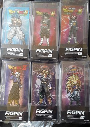 Dragonball Z Figpins for Sale in Tempe, AZ