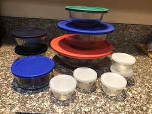 Pyrex Glass with Lids Bundle for Sale in Boca Raton, FL
