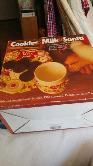 Santa plate or mug for Sale in Blackwood, NJ