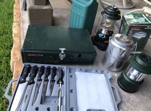 Camping stove and more for Sale in Lewisville, TX