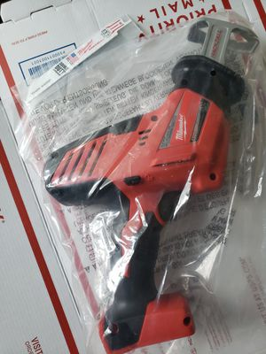 Milwaukee 2625-20 M18 18V Lithium-Ion Hackzall Reciprocating Saw Bare Tool New for Sale in Portland, OR