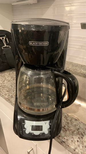 black and decker 10 cup coffee maker for Sale in Washington, DC