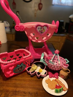Minnie mouse play kitchen lot for Sale in Minneapolis, MN