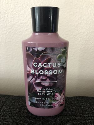 Cactus Blossom Super Smooth Body Lotion for Sale in Rancho Cucamonga, CA