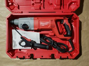 """NEW MILWAUKEE 1"""" SDS PLUS ROTARY HAMMER DRILL for Sale in Greenville, SC"""