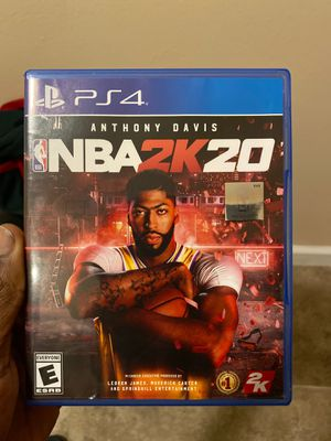 NBA 2k20 PS4 for Sale in Chicago, IL