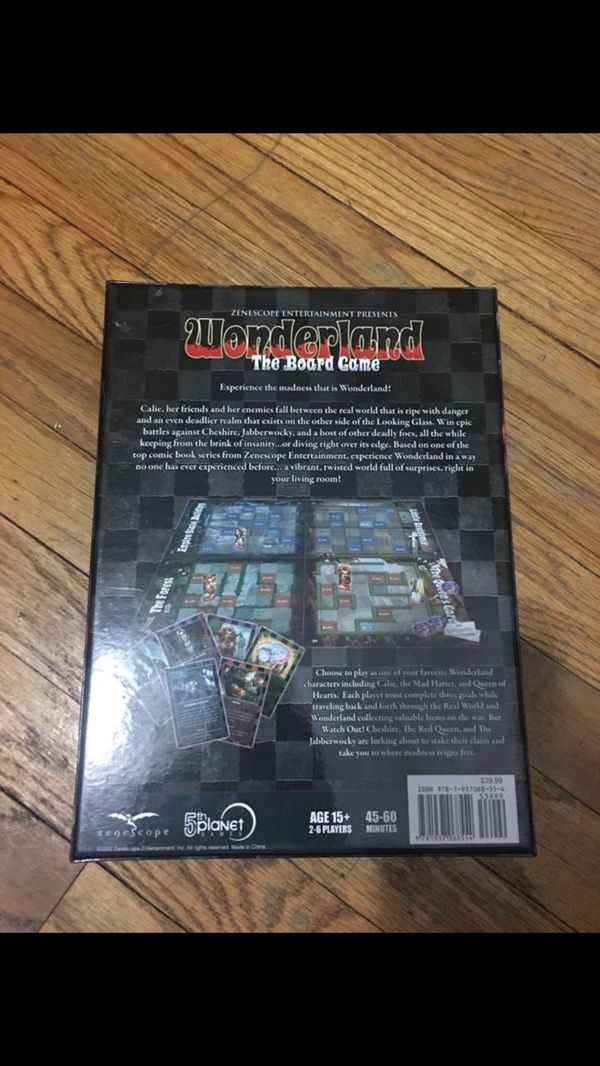 Zenescope Wonderland Board Game for Sale in Chicago, IL - OfferUp