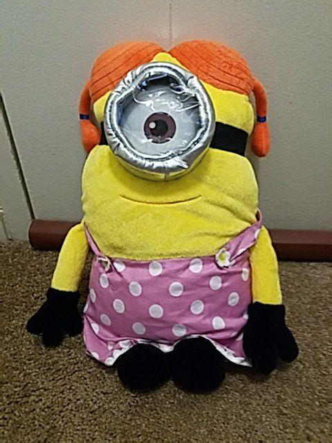 Soft stuffed minion