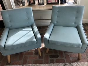 Set of 2 Mid Century Chairs for Sale in Corona, CA