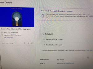 Kanye West Jesus is King Album and Film Experience for Sale in Los Angeles, CA