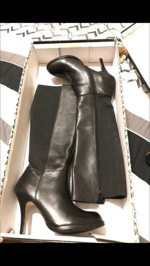 Knee high boots faux leather for Sale in Phoenix, AZ