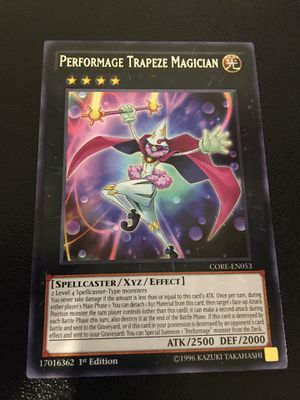 Performage Trapeze Magician Yugioh for Sale in Tempe, AZ