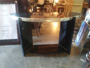 Black and gold sofa table for Sale in Pinellas Park, FL