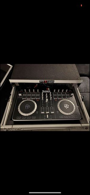 Numark mixtrack pro 2 with flight case for Sale in FL, US