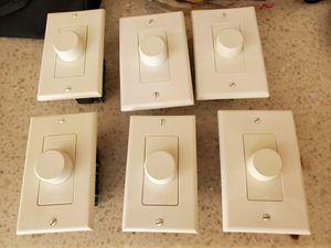 Speaker volume control knob set of 6 New for Sale in Las Vegas, NV