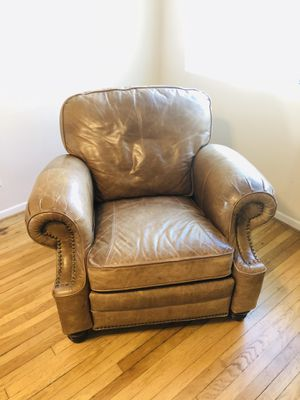 Leather loveseat BarcaLounger Recliner Chair for Sale in Santa Monica, CA
