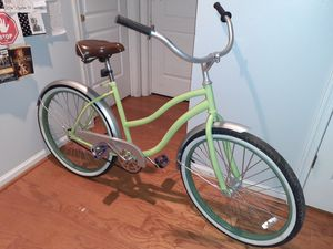 Fleshly painted Huffy Cranbrook Beach Cruiser 26 inch good condition rides smooth for Sale in Virginia Beach, VA