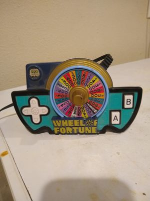Jakks Pacific wheel of Fortune game show plug n play tv game for Sale in Stockton, CA