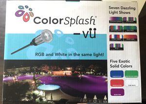 Pool Light Color Splash VU Brand New In Box for Sale in San Diego, CA