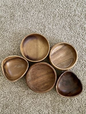 Decorative wooden bowls for Sale in Manassas, VA