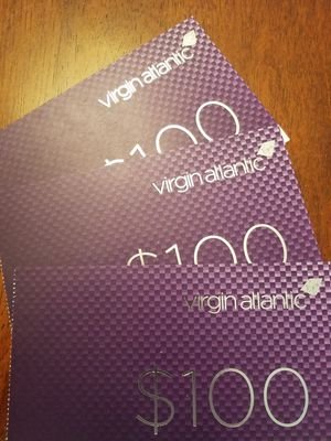 Virgin Atlantic Vouchers for Sale in San Diego, CA