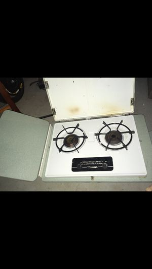Coleman pop up camper outside propane stove top for Sale in Riverton, NJ