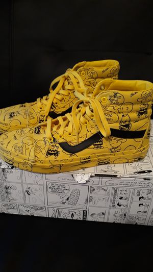Van's peanuts shoes size 9.5 for Sale in Antioch, CA