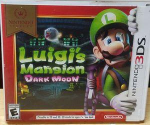 Luigi's Mansion Dark Moon Nintendo 3DS for Sale in Fresno, CA
