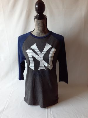 New York Yankees women's blue/grey baseball jerseys size S for Sale in Fall River, MA