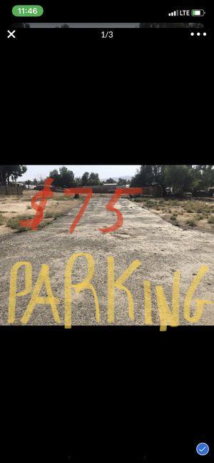 STORAGE PARKING!! RV•TRAILERS•BOAT• SEMI TRUCKS/Trailers ! for Sale in Riverside, CA