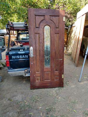 Wood door 80x36 for Sale in Modesto, CA
