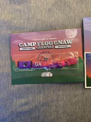 Camp flog gnaw 2-day GA for Sale in Temecula, CA