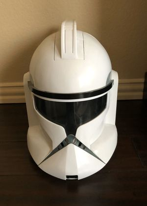 Star Wars Clone Trooper Helmet for Sale in Frisco, TX