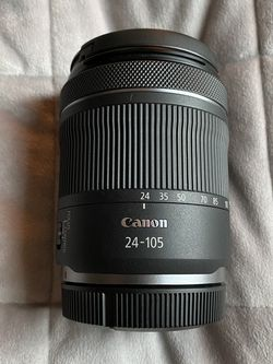 Canon rf 24-105mm f/4-7.1 is stm lens for Sale in Boring,  OR