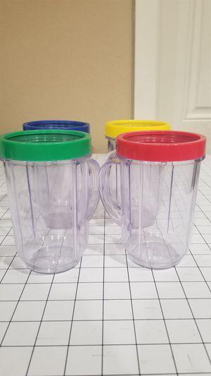 Magic Bullet Mixer Cups set 4 for Sale in Phoenix, AZ
