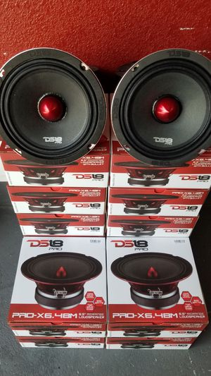 Ds18 Loud Voice speakers 600 watts each Pro X series $30 each(1) /Bosinas De Voz Fuerte y Claras 600 watts $30 Cada una(1) for Sale in Houston, TX