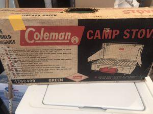 Coleman Camper Stove for Sale in Mesa, AZ